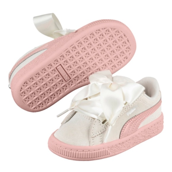bffb62e9718d Puma Suede Heart Jewel Infant Sneakers